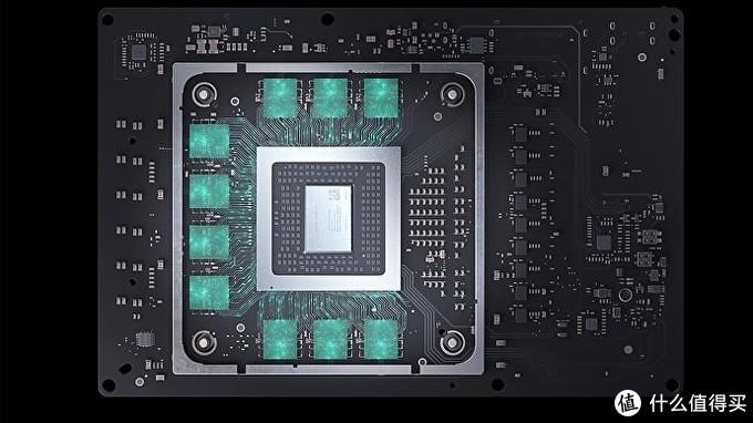 来自三星的GDDR6显存,正面320bit 10GB提供560GB/s带宽,背面192bit 6GB提供336GB/s带宽