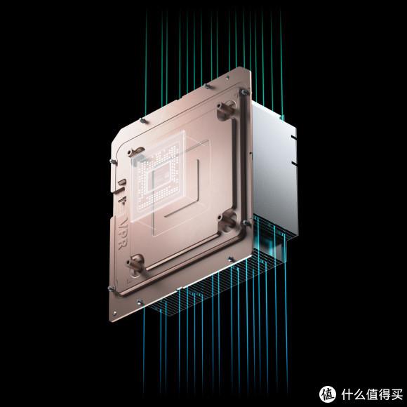 这块看似结构简单的散热模块,想必包含了不少黑科技!这可是7nm制程的360.54mm²超大核心啊!