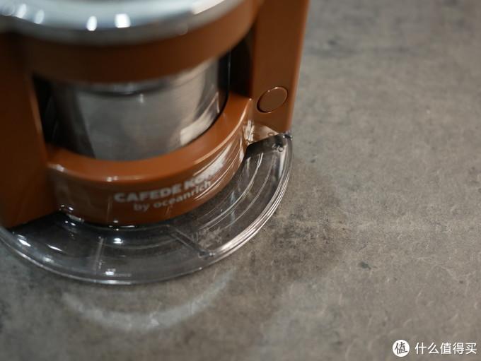自带舞娘属性的CAFEDE KONA迷你便携滴滤咖啡机
