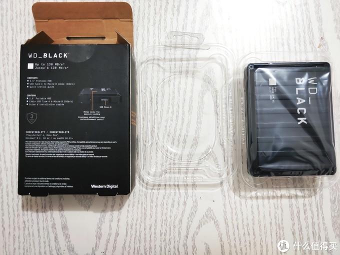 买过的最大的移动硬盘——西部数据WD BlACK P10 5TB