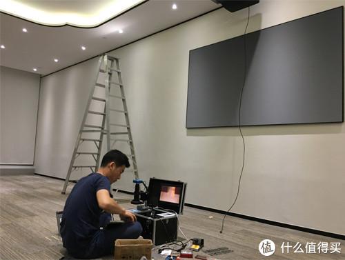 不显示,闪屏?HDMI光纤线坏了?已经埋线了怎么维修?