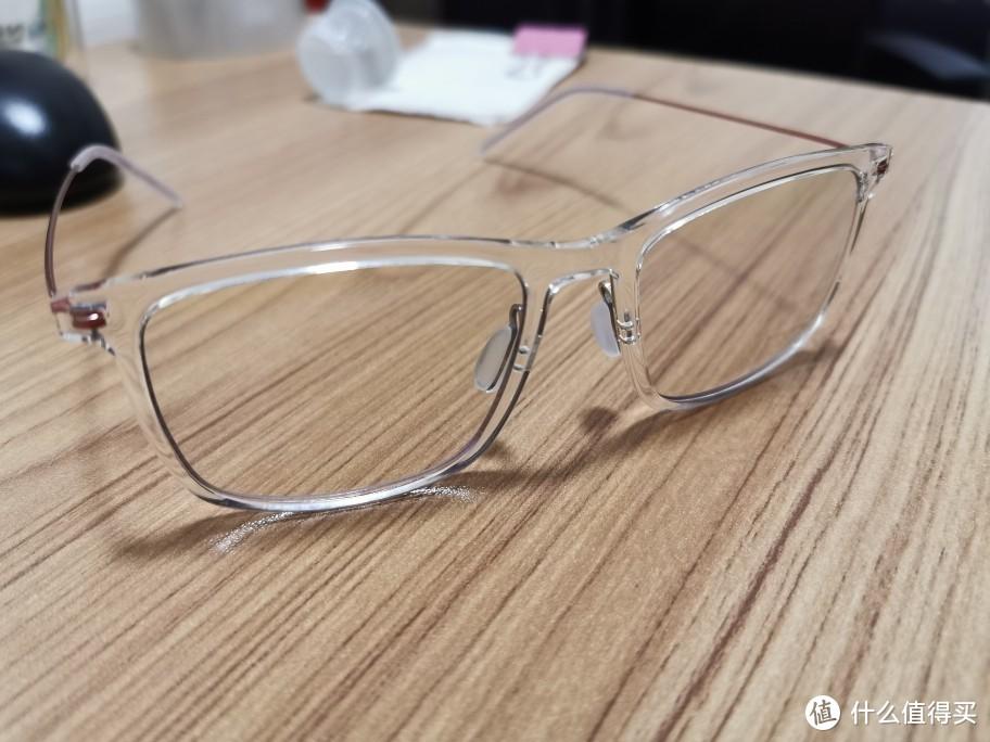 被种草的第N件小米产品(米家防蓝光眼镜Pro)