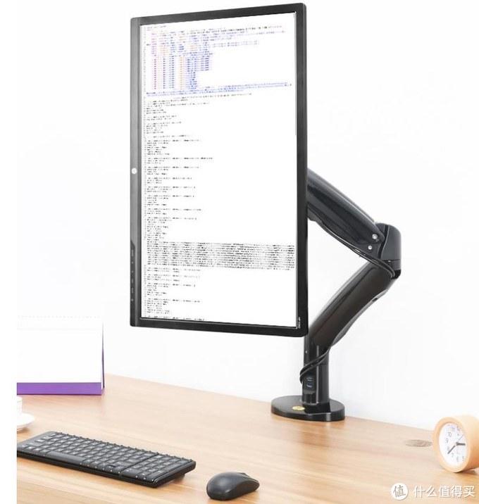 舒适办公,呵护健康,显示器支架让桌面更清爽