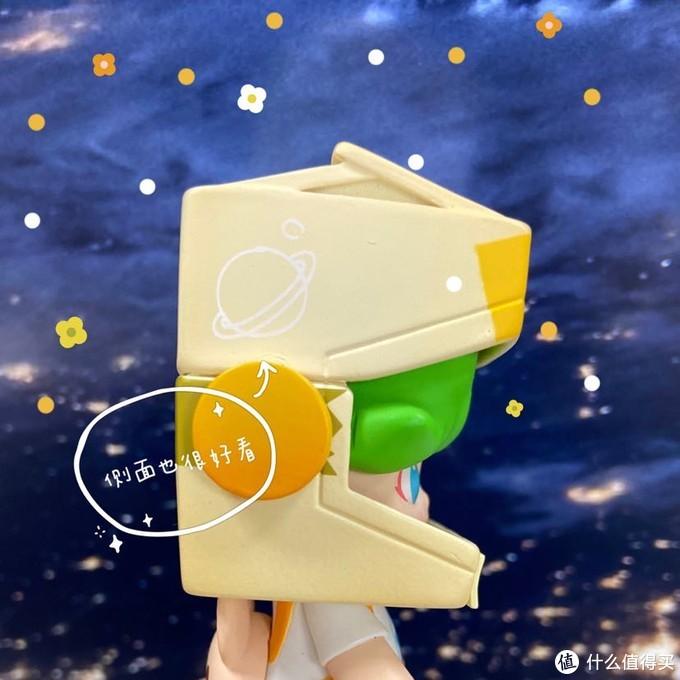 超可爱太空盲盒首开 泡泡玛特DIMOO纸盒男孩 细节展示
