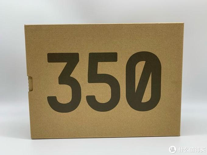 阿迪小程序首次中鞋 Yeezy 350v2黑生胶简单开箱