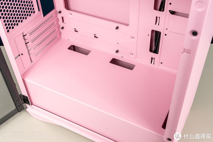 想给妹子装电脑?这台粉嫩十足的机箱可不能错过!爱国者YOGO M2猫爪粉 游戏药丸机箱 评测