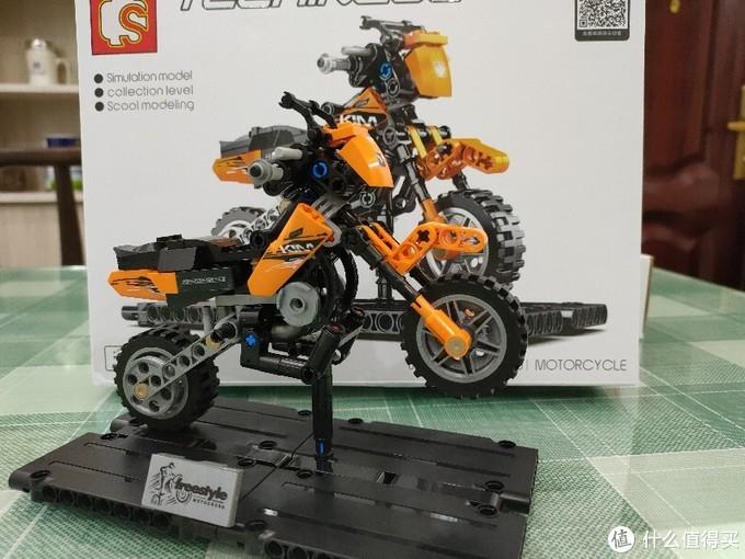 本站狂推的森宝这5款摩托车积木值不值得入手及拼装体验(附模型与实车对比)