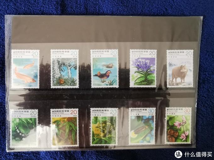 这套是韩国邮票