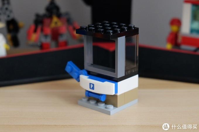 城市中的增采小组件——LEGO 乐高 40170 城市组 建筑组件