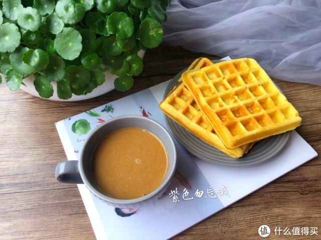 1分钟教你自制华夫饼,1碗面粉,1个鸡蛋,美味下午茶轻松搞定