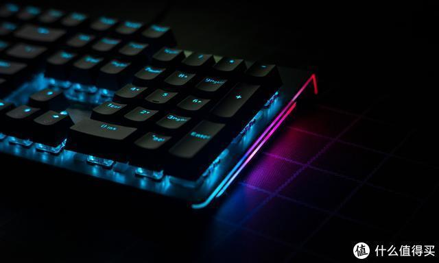 雷柏V530机械键盘值不值的入手,低调蓝光,悬浮按键