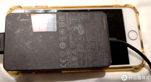 电源和iphone 6s大小对比