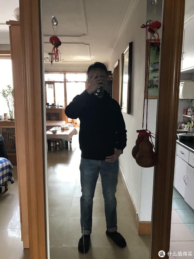 GU男士连帽卫衣测评