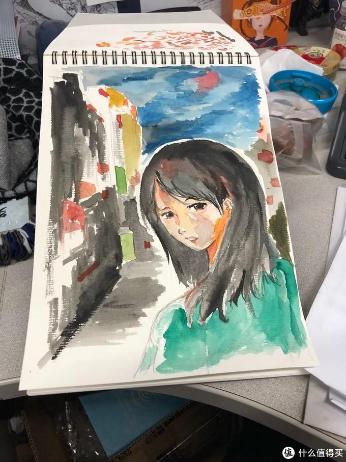 入坑半年的水彩涂鸦,总算让我隔离期间有些打发时日的事情