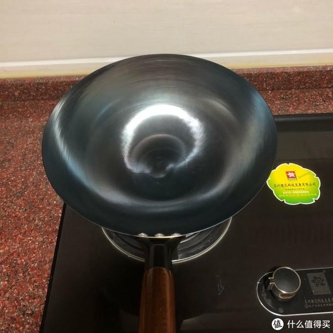 厨时代29元30CM炒锅使用感受和不粘效果(附开锅方法)