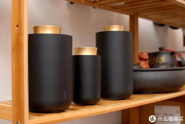 三界黑金茶叶罐开箱体验,网友:终于知道什么叫精致的完美主义了