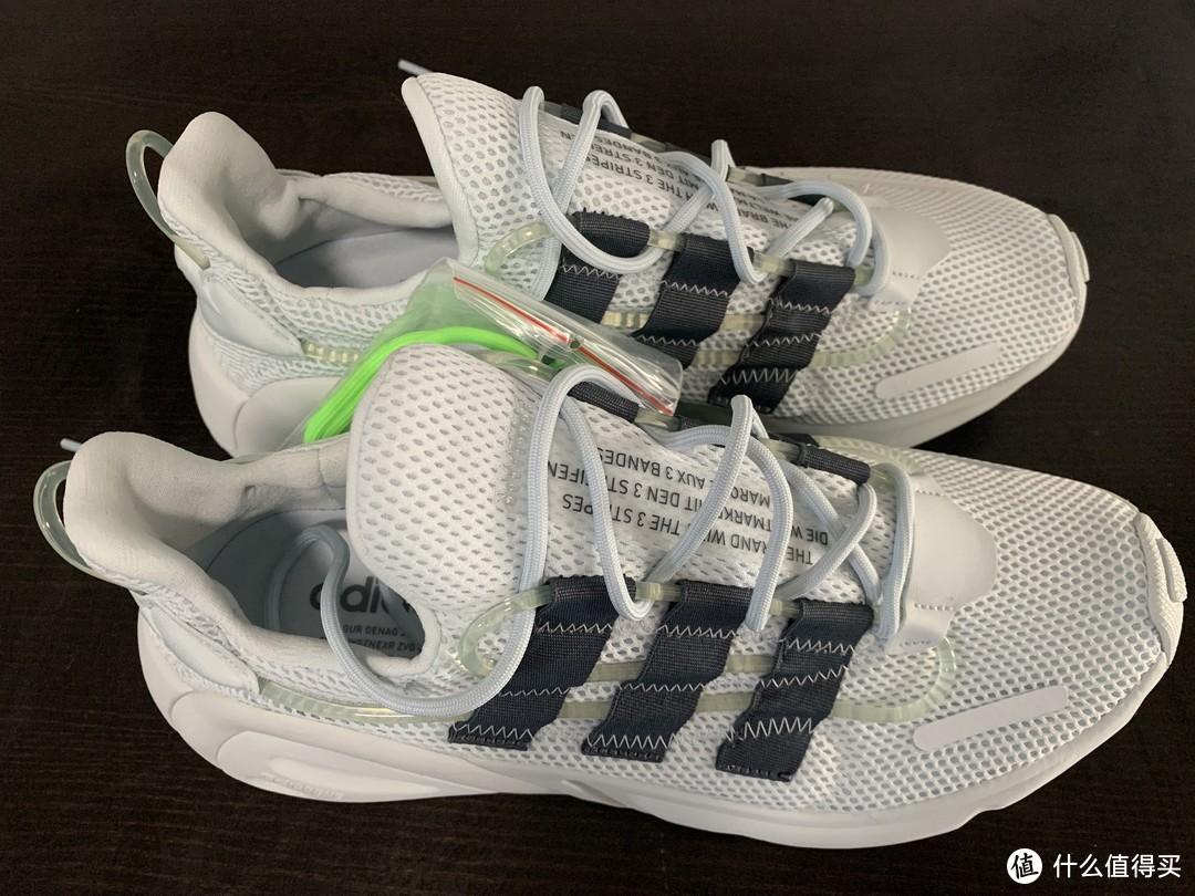 我两岁的时候首发款:adidas阿迪达斯三叶草LXCON运动鞋