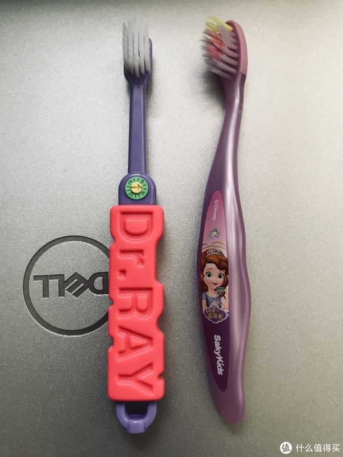 培养孩子刷牙好习惯——雷治(Dr.RAY)魔幻小陀螺牙刷晒单