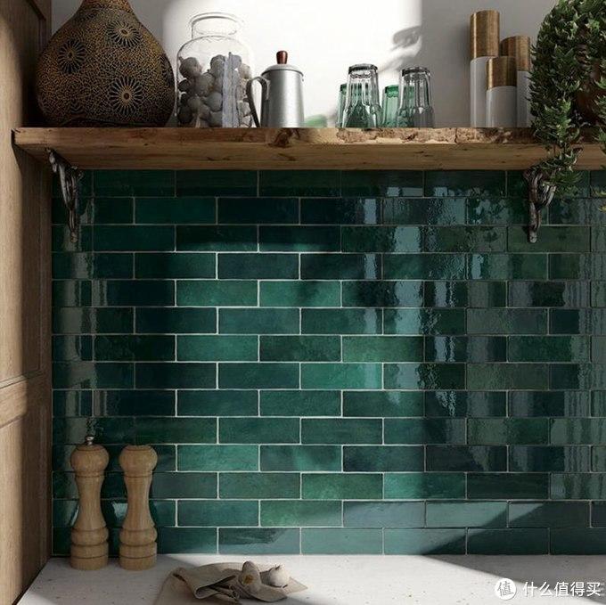 【家装趋势】墙面单调?你没试过彩色亮片小墙砖吧?