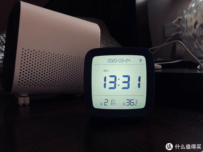 青萍蓝牙闹钟-自带温湿度传感器