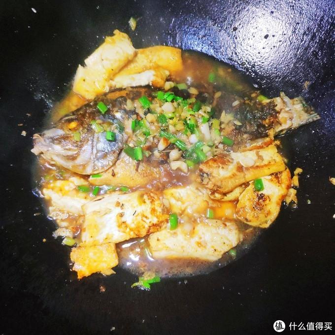 豆腐焖鱼——我的家常菜