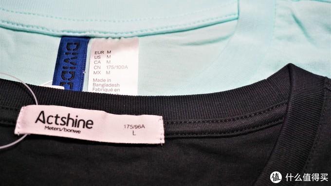 一件不太推荐的打底T 恤,H& M 纯色打底T 恤晒单