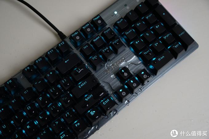 成熟男人游戏之选 雷柏V530防水机械键盘小测