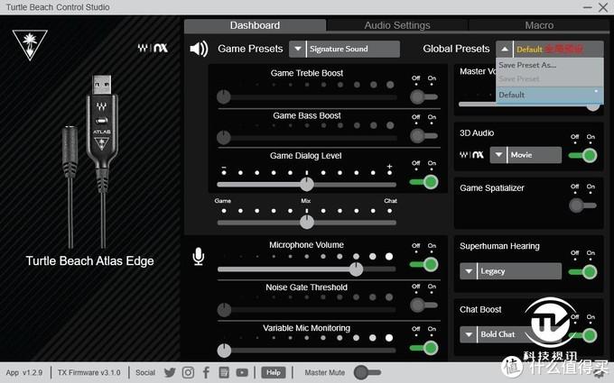 加装ATLAS EDGE声卡战力大增!乌龟海岸ATLAS ONE A1电竞耳机评测