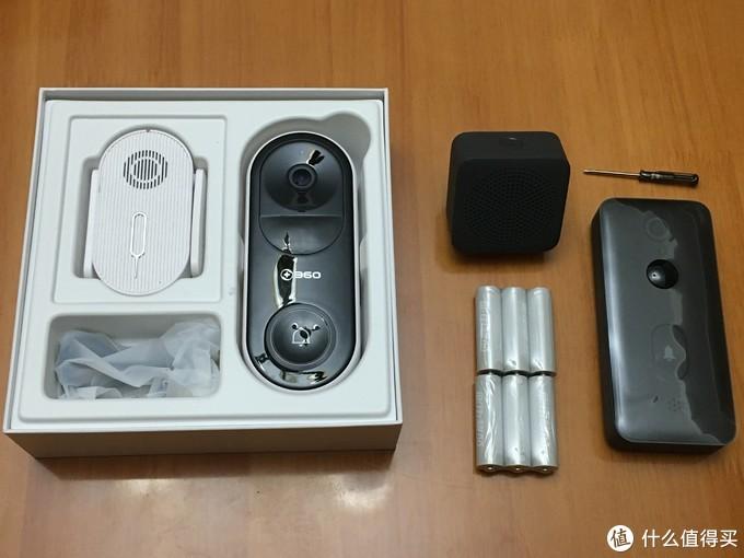 """""""轻智能""""家庭设备分享之一:""""新欢""""米家智能门铃2对比""""旧爱""""360智能门铃"""