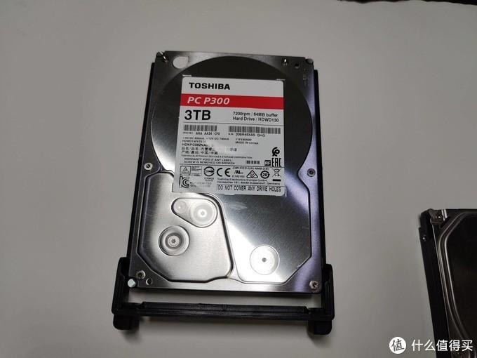 依然稳健 - 东芝P300机械硬盘,开箱+安装+实测