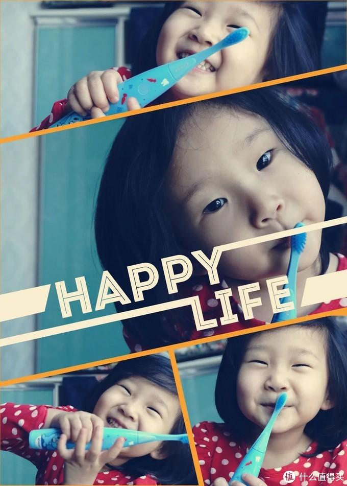 让刷牙也充满童趣!佳洁士 S7000K儿童智能声波电动牙刷开箱