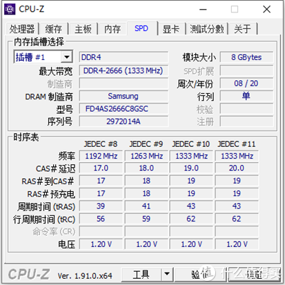 FORESEE DDR4 SO-DIMMDDR4-2666内存评测