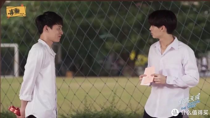 两个帅哥在一起,每一秒都让人心花怒放。