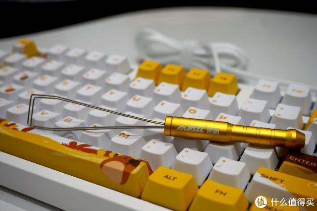 萌系治愈风来袭,黑爵毛茸茸机械键盘上手体验!