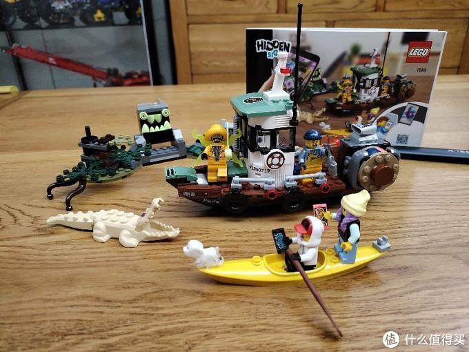 乐高 70419 hiddenside 捕虾船,海盗湾、渔屋绝配?