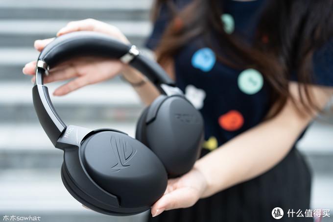 便携随行:带Hi-Res标的ROG 风行go游戏耳机体验