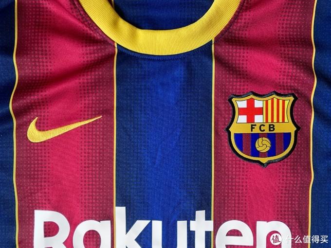 巴萨新赛季球迷版球衣仍未采用薄款烫印队徽