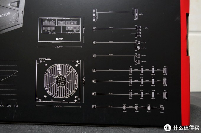 短身板有内涵,威刚XPG CR650G金牌全模组电源上手