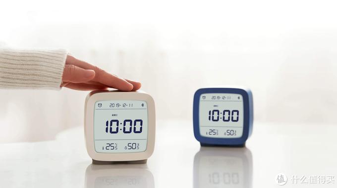 买闹钟送温湿度传感器,青萍蓝牙闹钟开箱体验