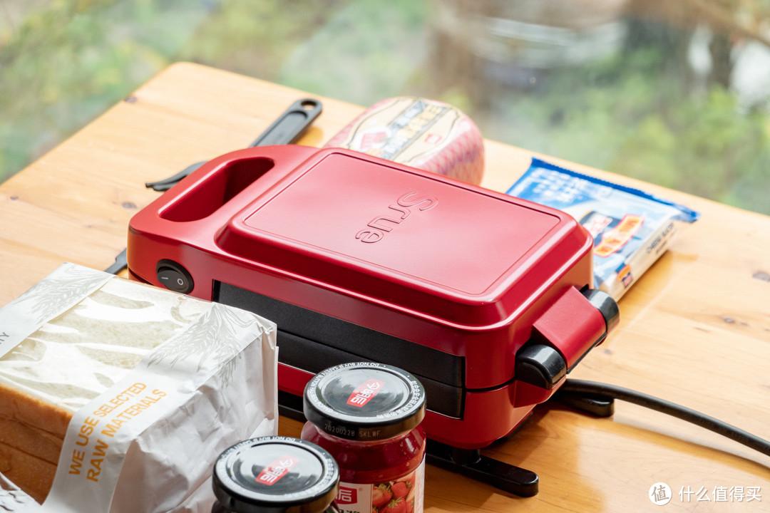 宅家生活,也要吃好早餐:Srue 多功能三明治机体验
