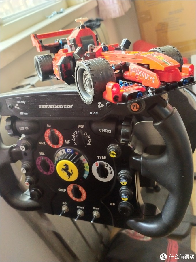 """在家的日子,来个国产积木打发时光吧,森宝""""法拉利""""F1方程式赛车"""