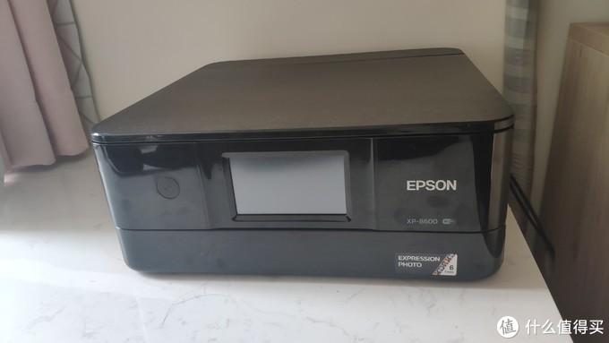 爱普生xp-8600打印机开箱及体验
