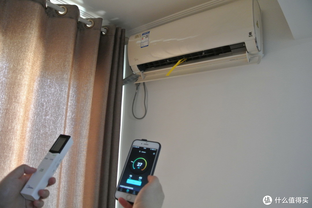 好空调装起来:智能舒适之美的锋行1.5P一级能效变频冷暖空调安装使用体验