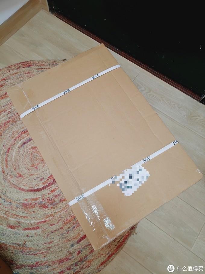 拿回来的大箱子 包装很规整