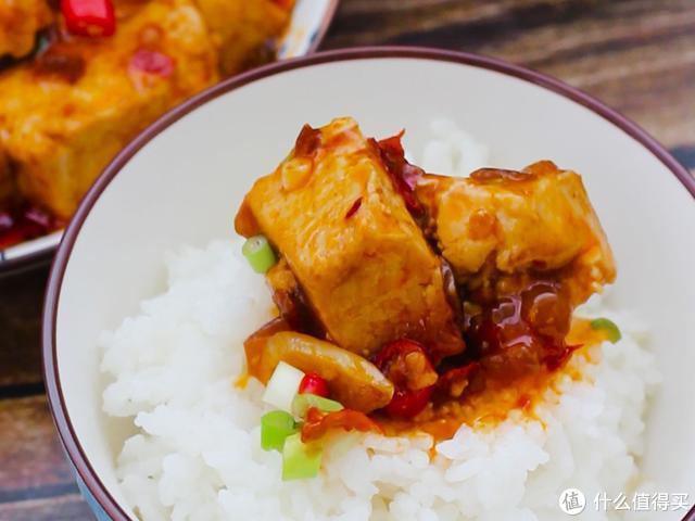 豆腐这样烧,软嫩入味酱香浓郁,太下饭啦