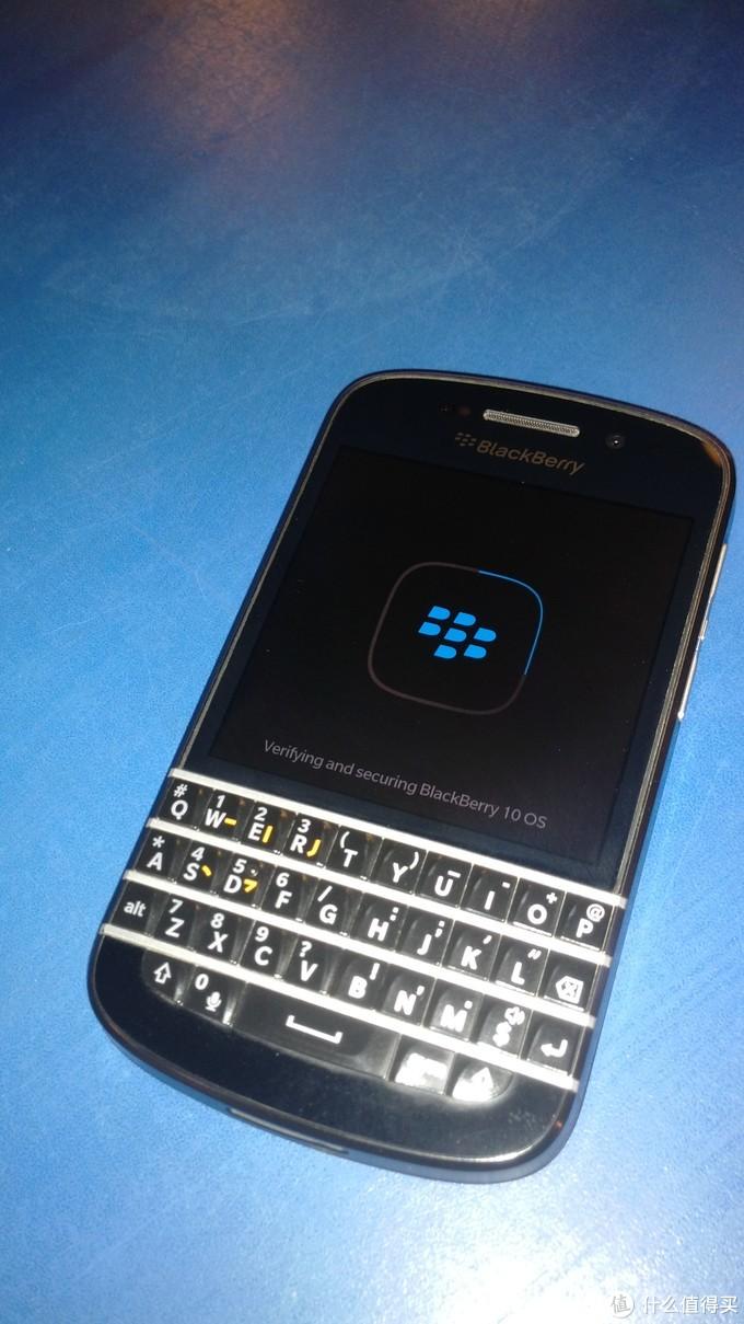 大男孩的快乐 - Blackberry!