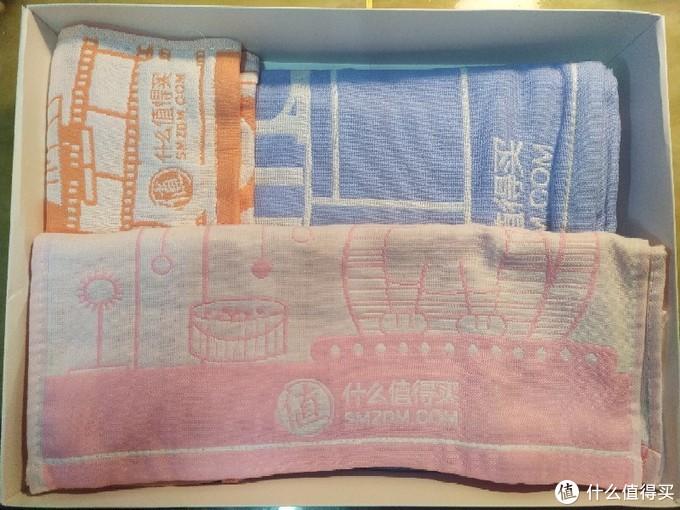 热乎的开箱:张大妈定制毛巾三件套