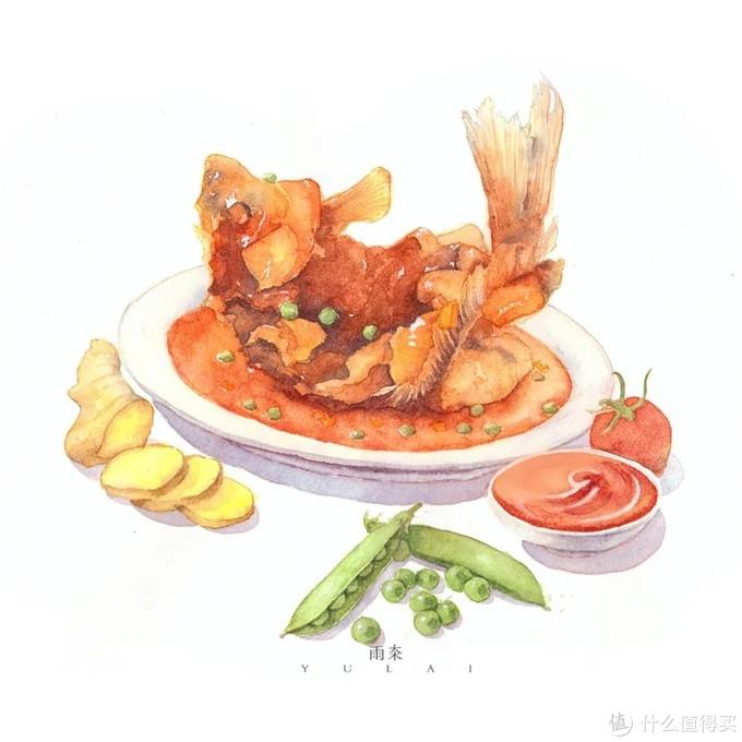 秀色可餐!这么可爱治愈的美食插画,谁会不喜欢啊!