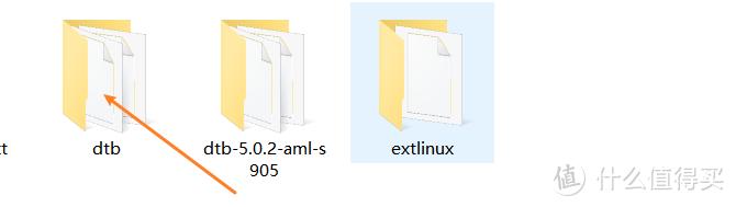 把下载的的dtb文件拷进去
