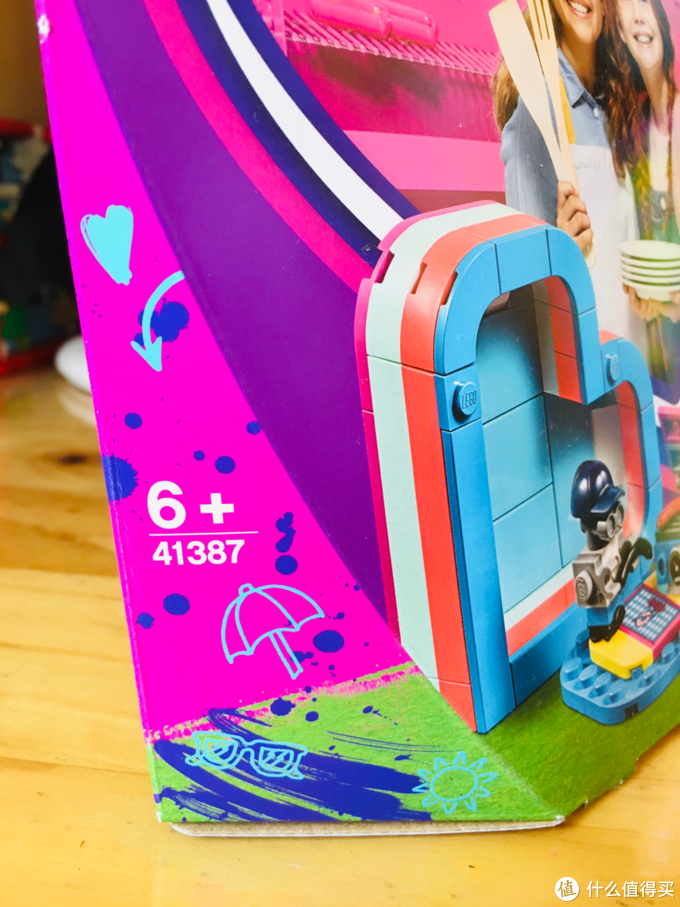 乐高41387好朋友系列 奥莉薇亚的夏日藏宝盒 开箱晒物